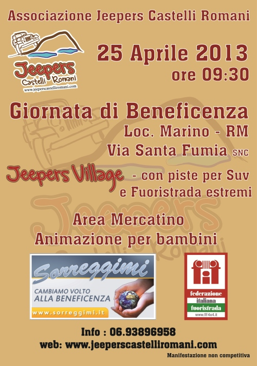 beneficenza Jeepers